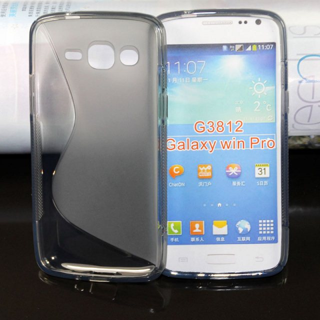 Wholesale phone Case S line Tpu Back Cover case for Samsung GALAXY Win Pro G3812