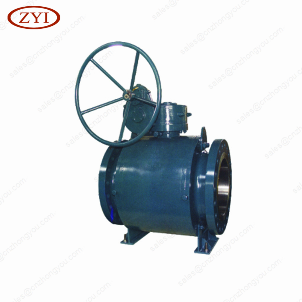 OEM hand wheel operated double ball valve