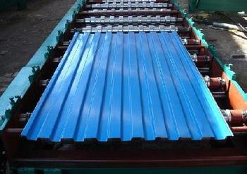 Roofing Sheet of Galvanized Corcolored corrugated steel plate,roofing sheet,roof rugated steel Plate for Workshop and Mobil room