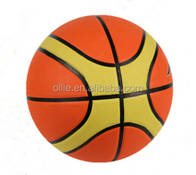 in bulk official size and weight rubber basketball