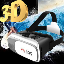 "2016 New VR BOX 2.0 Google Cardboard Virtual Reality 3d Game Movie foar 3.5"" - 6.0"" Smart Phone, vr box 3d glasses, vr case"