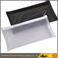 PVC bag zippered PVC mesh bag PVC document bag PVC Mesh File Packing Bag Plastic Mesh Zip Top File Pencil Bag PVC Packing