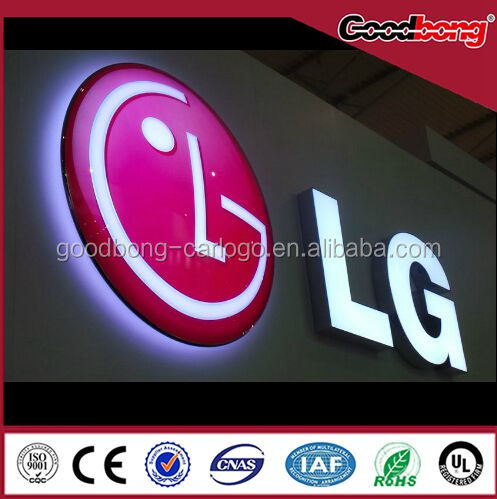 outdoor led shopping mall business advertising sign