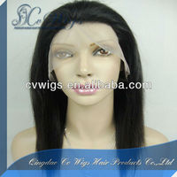 Uprocessed Best Quality Tangle Free India Hair Wig Price