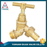 TMOK brass bibcock CE approbed high pressure and forged polishing manual power ppr fitting