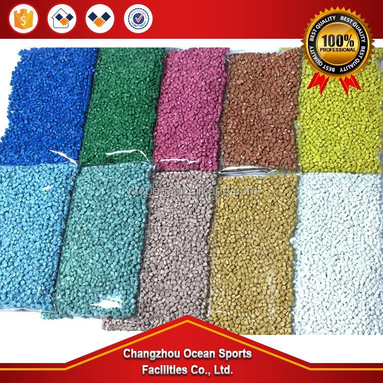 School of breathable plastic runway polyurethane glue material environmental protection plastic basketball court