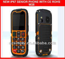 IP67 hot sale celular dual chip SOS button .GPRS