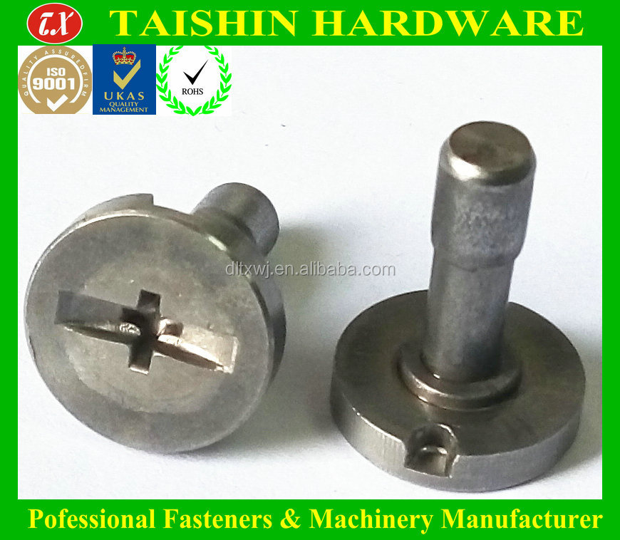 Stainless Steel Cylinder Head Phillips/slot Tail Beam Bolts