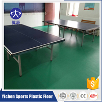 Hot sale PVC Table Tennis Court Surface Floor