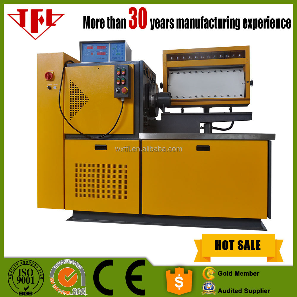 Common rail fuel injector bench pressure tester with CE & SGS