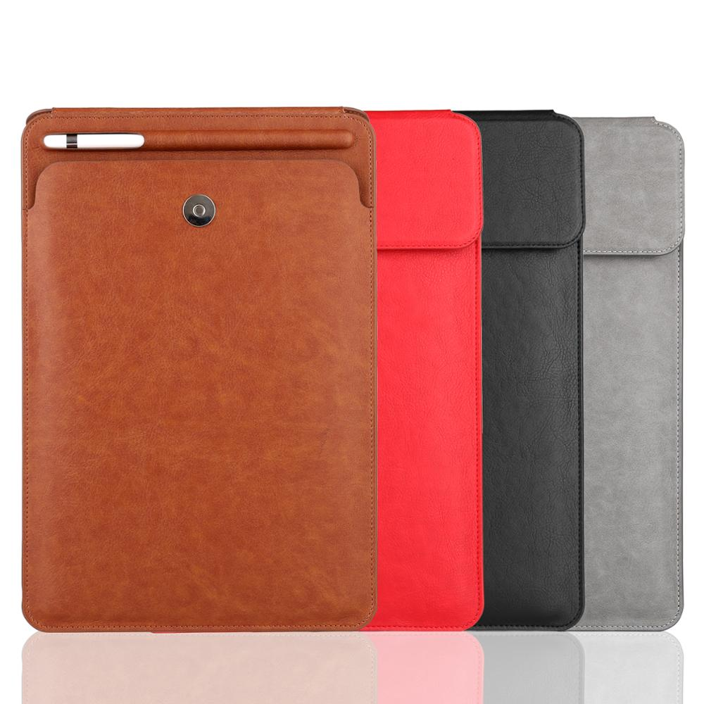 High Quality PU Leather Sleeve Cases with Pencil Holder for <strong>iPad</strong> Pro 10.5 inches