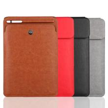 High Quality PU Leather Sleeve Cases with Pencil Holder for iPad Pro 10.5 inches