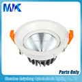 factory price best selling 5'' 18w cob downlight led, led down light housing, downlight casing housing