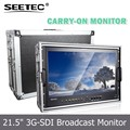 Widescreen 16:9 LED backlight Full HD 21.5 inch broadcast HDMI monitor with 1920*1080 pixels 3000:1 contrast