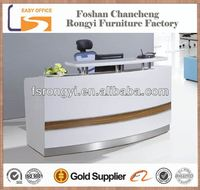 OEM 2014 on sale spa salon cheap price office front counter design
