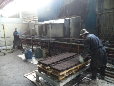 Roasting 1 (Stone Coated Metal Roofing Tile)