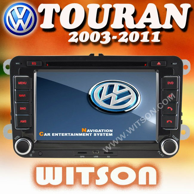 WITSON vw touran cd navigation with Built-in TV tuner