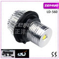 5W white LED light angel eyes for E60 e39 e65 e53