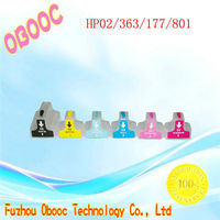 Hot selling refillable 69ml Compatible ink cartridges for HP 02|363|177|801