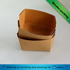 eco friendly customized brown kraft food paper tray