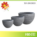 Half Barrel Flower Pot for Balcony Garden Decoration