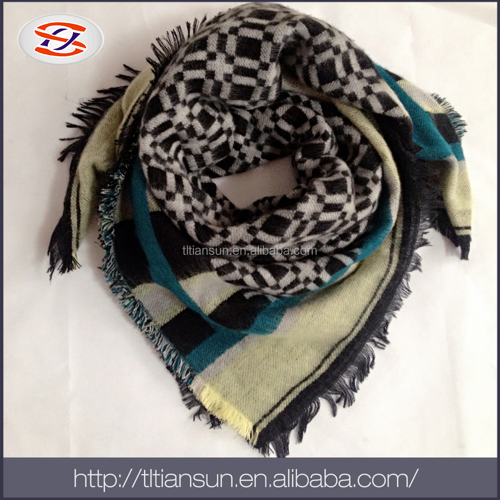 Wholesale Products China lady dubai muslim scarf/ small neck scarf