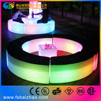 led glowing sofa furniture accessories
