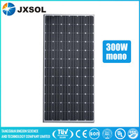 hot photovoltaic mono crystalline module 300w soalr cell panel with cheap price