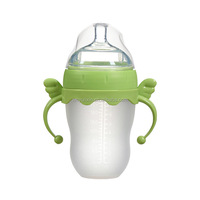 PBA free wide 150ml and 250ml silicone baby bottle
