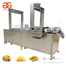 High Quality French Fries Plantain Chips Frying Making Processing Machine Banana Chips Production Line
