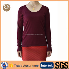 Long sleeve customized sweater designs for women