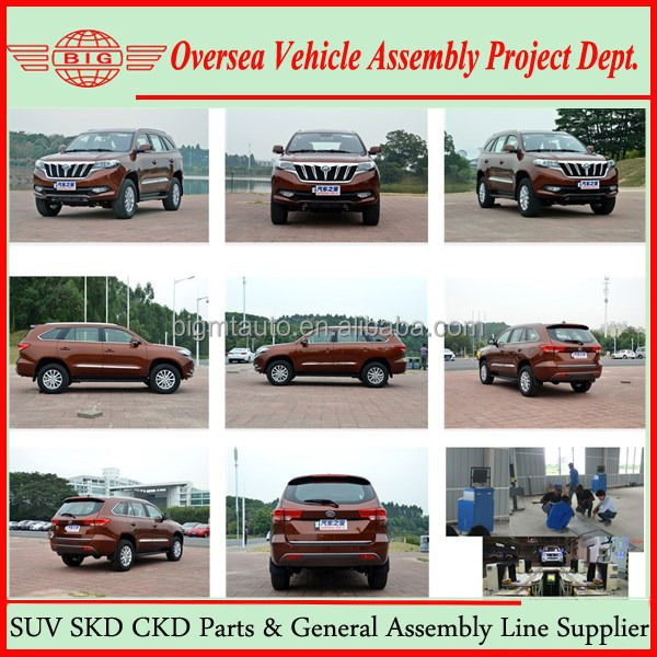 2WD 4WD Left Hand Drive New Small Diesel SUV