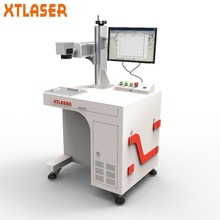 Mobile Watch Phones Parts Marking Machinery Enclosed Fiber Laser Marking Machines