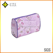 beauty toiletry purple wash mesh makeup bag cosmetic case