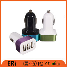 Wholesale Fast charging battery car charger for iphone and for samsung