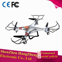 High End Waterproof Unmanned Aerial Vehicle with 2.4GHz 6-Axis Gyro Remote Control LED Flashing Lights 3D Eversion UAV(Silver)
