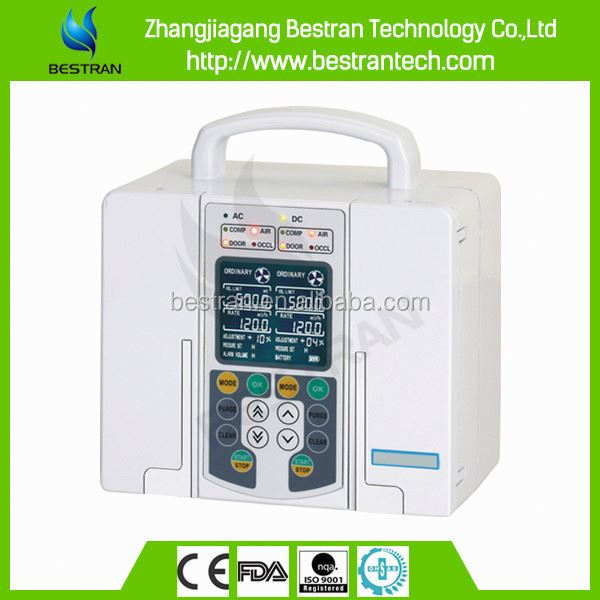 BT-IP120 CE ISO medical Double-Channel iv infusion pump