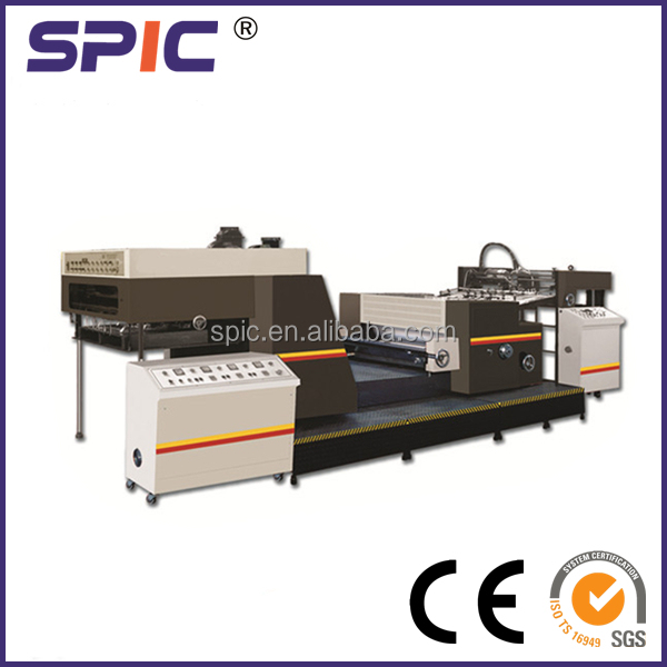 CHWJ-1100 Automatic Spot UV coating machine
