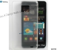 Clear Transparent Ultra Thin Skin Case for Samsung Galaxy S2.