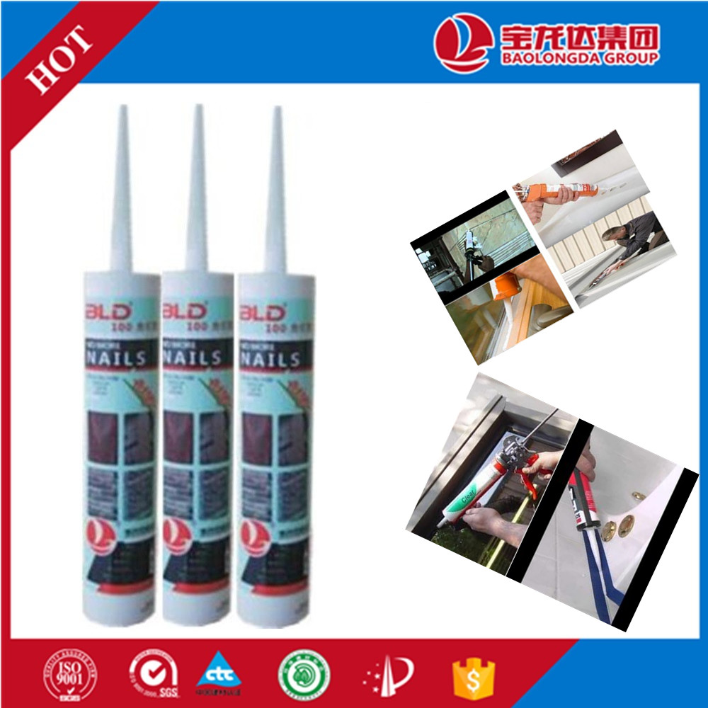 No More Nails Wood Glue Painting Silicone Sealant BLD100