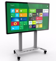 84 Inch Big Screen lcd interactive touch screen smart board tv, interactive whiteboard