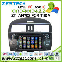 car audio for nissan tiida car audio system sylphy xtrail with Android 4.2.2 ZT-AN703