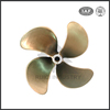 China manufacturer 4 blade type mateial ship bronze propeller