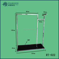 Fashional stainless steel standing garment rack