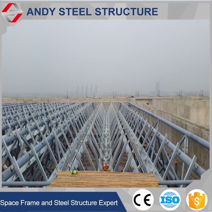Ecnomic Grid Frame Prefabricated Steel Girder Truss Construction
