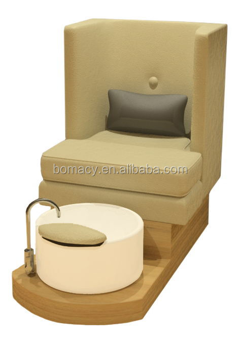 Customized whirlpool versas foot spa pedicure chair for sale