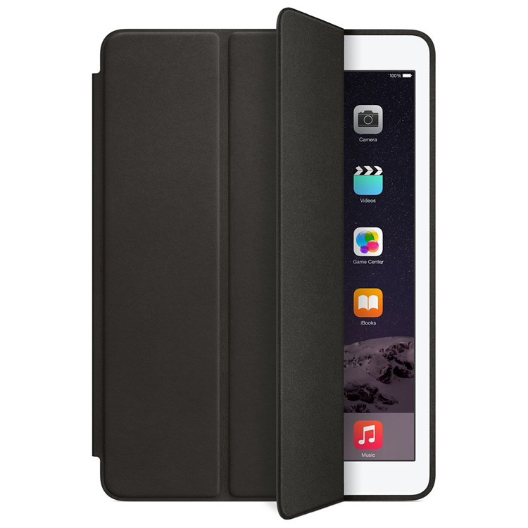 Auto Sleep Wake Original Leather Tablet Flip Case For iPad air 2,Multi-folding Stand Leather Case Cover For iPad Mini