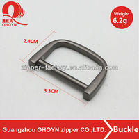 Factory directly sale metal buckle with high quality good looking d ring for belt