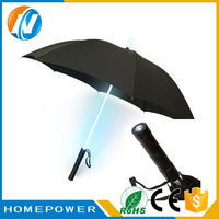 2017 promotion advertisement utdoor led umbrella lights solar
