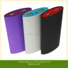 MINI power bank,Factory price,15600mAh strong aluminium mobile power